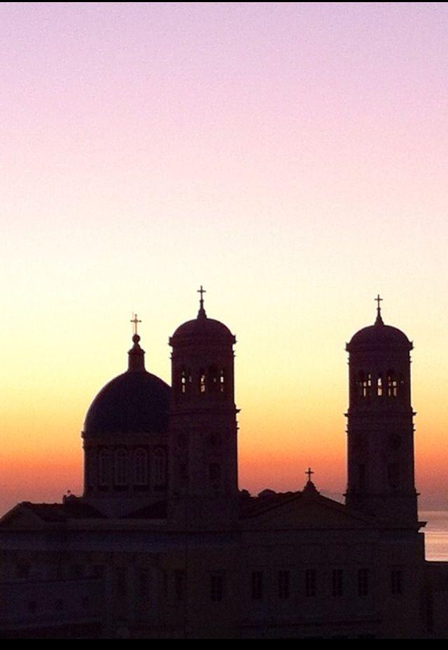 St Nicholas church at Syros island