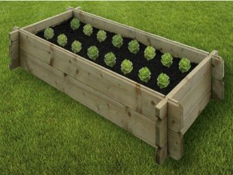 Easy Assemble Raised Bed 6ft by 3ft