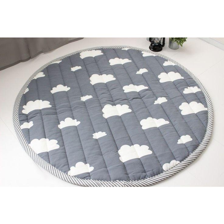 CLOUD柄キルトラグ(丸型) :ch-cloud-rug:イブルとティピーのTRICK HOLIC - 通販 - Yahoo!ショッピング