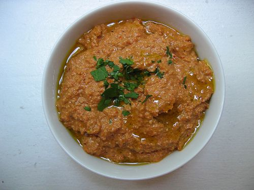 Much Depends on Dinner: muhammara: red pepper and walnut puree ...