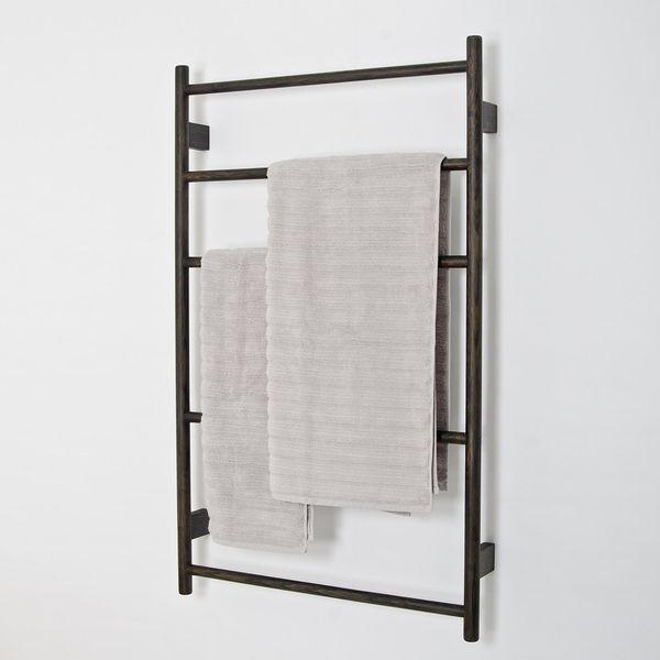 Handtuchhalter Fur Die Wand Von Wireworks 230 Handtuchhalter Bad Rustikales Badezimmer Dekor Design Heizkorper