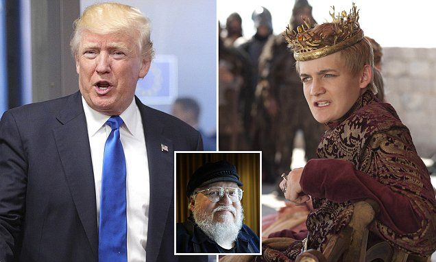 Game of Thrones creator likens Trump to King Joffrey