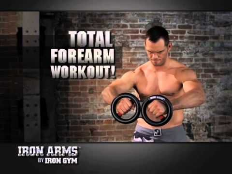 'Iron Gym Iron Arms' - Train je Armen