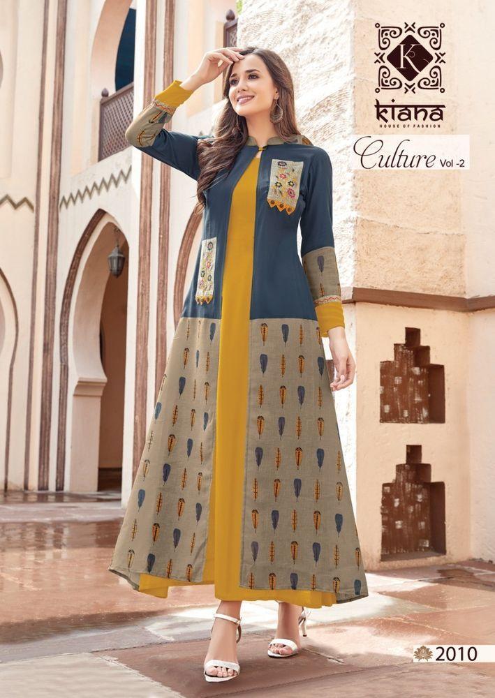 983f96a091 Indian Bollywood Kurta Kurti Designer Women Ethnic Dress Top Tunic Pakistani  New #New #fashion #design #latest #Wedding #bridal #dresses #pinterest ...