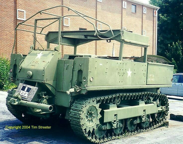 M 56 Scorpion For Sale In California: 14 Best M5 Gun Tractor Images On Pinterest