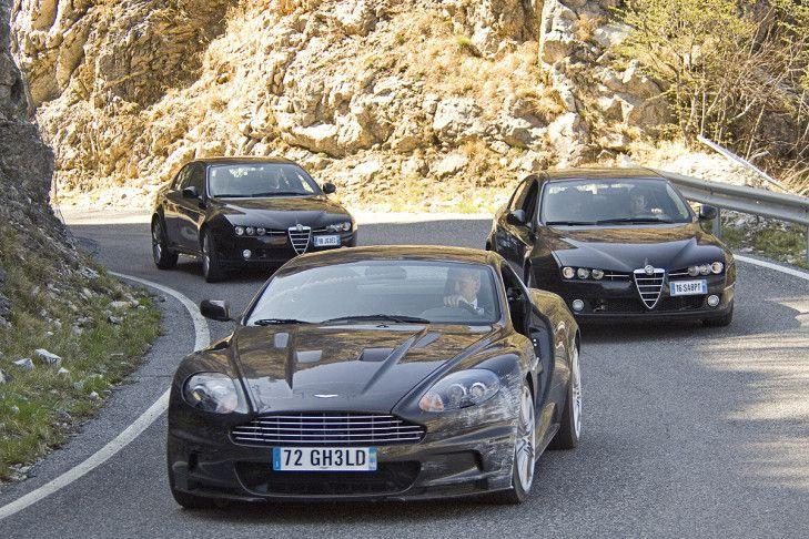 """Der neue James-Bond-Film """"Ein Quantum Trost"""" startet am 6. November 2008. Dienstwagen auch dieses Mal: ein Aston Martin DBS. Was 007 vorher alles fuhr, zeigt diese Bildergalerie."""