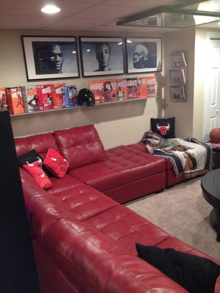 Best 25 Sports Theme Basement Ideas On Pinterest Sports