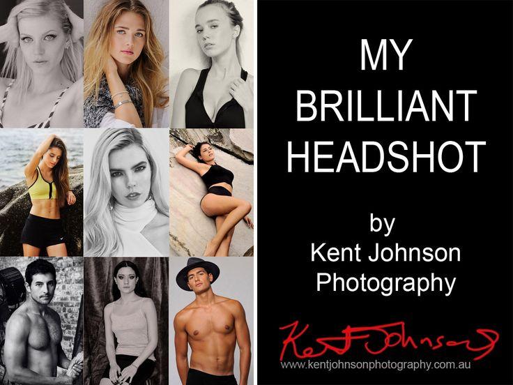 Headshots for fashion modelling by photographer Kent Johnson, Sydney, Australia.