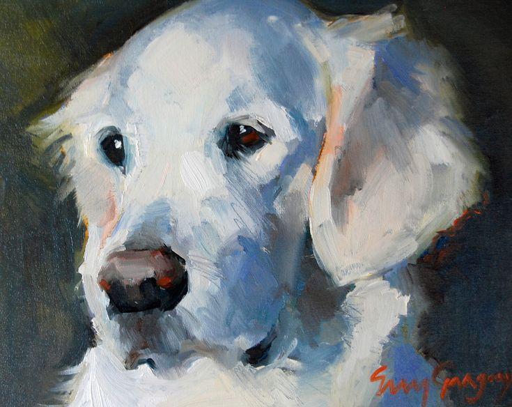 erin fitzhugh gregory ......…..darling painting http://googydog.com