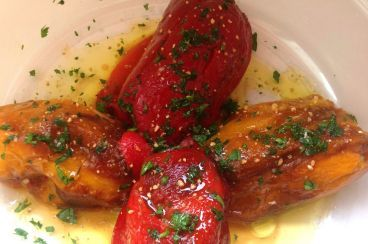 Recipes Puglia | recipe list ingredients and preparation | Peppers rolls by Bari