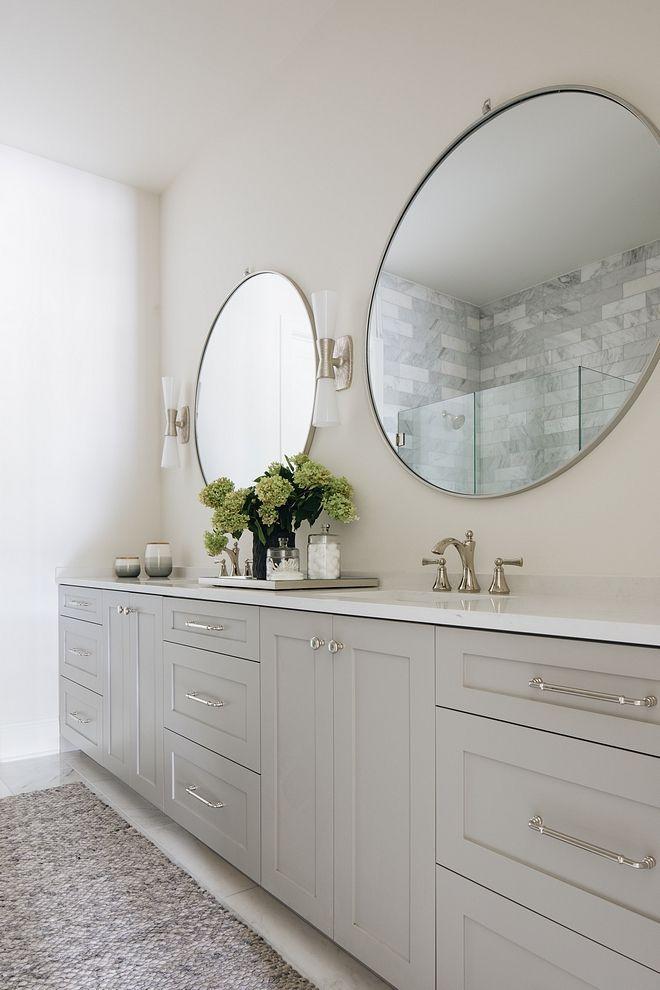 Best Cabinet Color – Benjamin Moore Gray Huskie Wall Color Is 400 x 300