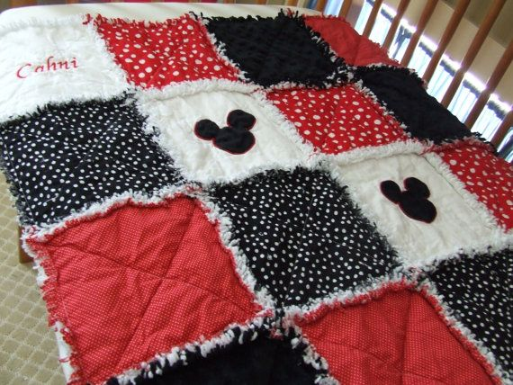 Personalized Made To Order Appliqued Mickey by yankeefashions