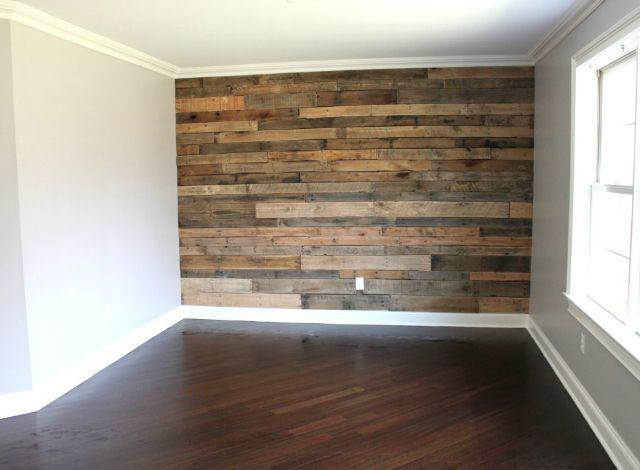 perfect pallet wall in a bigboyroom projectchase - Wood Wall Design Ideas