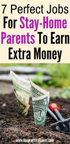 7 Perfect Jobs For Stay-Home Parents To Earn Money. blogging l part-time jobs l easy part-time jobs l stay-home parents l home-based businesses l home-based jobs l earn extra money l side hustles l work from home l extra money l easy jobs l budget l money