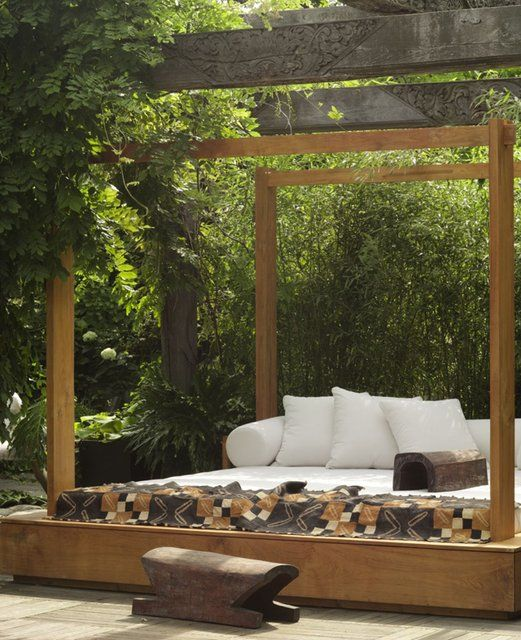Outdoor Bed 50 best outdoor beds images on pinterest | outdoor beds, outdoor