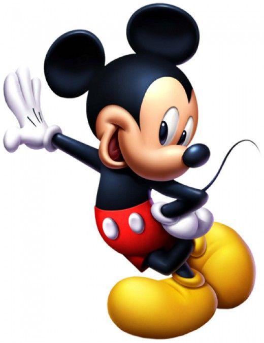 Mickey Mouse es un personaje ficticio de la serie del mismo nombre, emblema de la compañía Disney. Creado el 18 de noviembre de 1928, este ratón tiene un origen disputado.  Tiene orejas negras enormes, zapatos amarillos gigantes y unos guantes blancos en las manos.