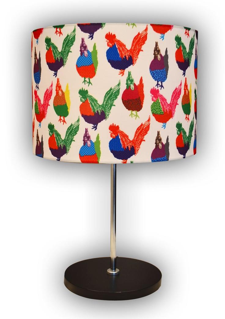 Lámpara Escritorio. Gallo