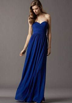 17 Best images about Vestidos azules largos / Long Blue dresses on ...
