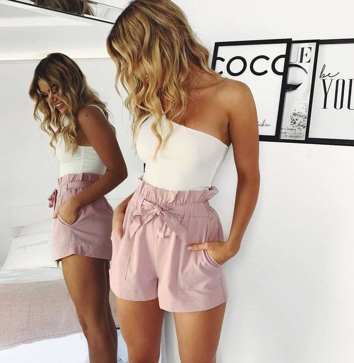 Sommer outfits damen 2019