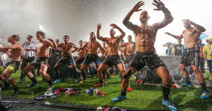 New Zealand Rugby Team Dances Shirtless in the Rain, and It's Glorious