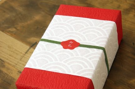 (A través de CASA REINAL) >>>>  gift wrapping , ギフト ラッピング ,Japan gift