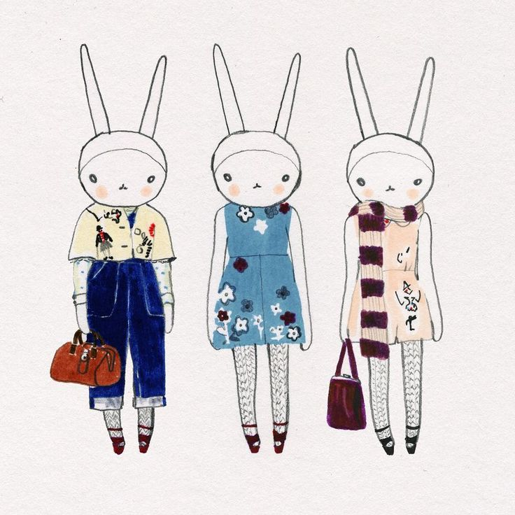 Fifi Lapin wears Red Valentino