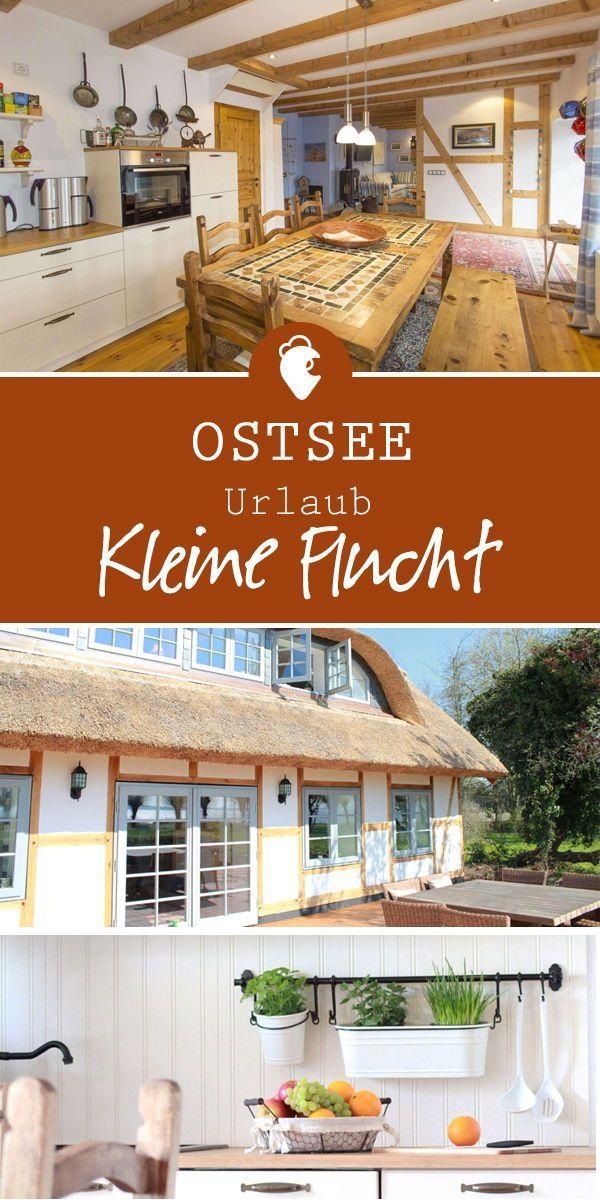 """Das Ferientraumhaus """"Kleine Flucht"""" liegt im maler…"""