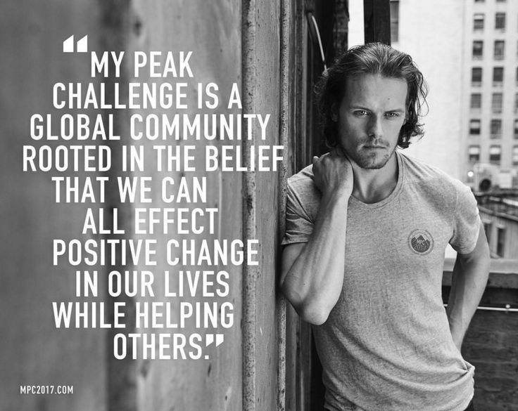 "outlanderamerica: "" ""samheughan#MPC2017 Preregistration opens TODAY!!! (6pm UK/10am Pacific) Join us in the new year, beginning Jan 2 and reach your best peak yet! @mypeakchallenge Link in bio. X"" Sam Heughan IG www.mpc2017.com """