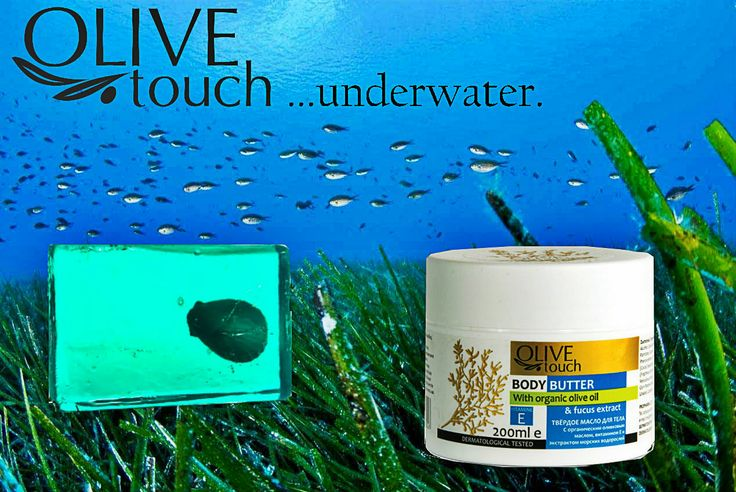 Olive Touch goes... underwater! 1. Body butter with seaweed  2. Handmade Soap with Sea Weed #seaweedextract #fucusextract #fucus #bodybutter #fucusextract #seaweed #greekproduct #greeksea #sea #summer #naturalcosmetics