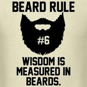 Beard rule#6