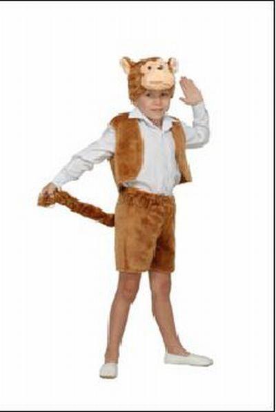 Карнавальный костюм обезьяны с фотографией
