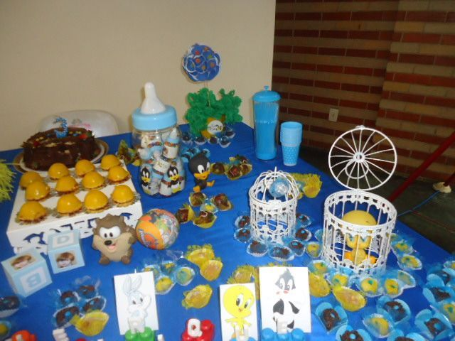 Baby Looney Tunes Baby Shower Banner   Bing Images