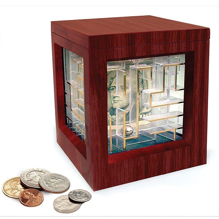 17 best money gift puzzles images on pinterest gift for Maze coin bank