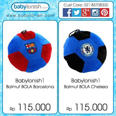 Apakah Anda penggemar bola? Dapatkan bantal selimut bertema bola untuk anak Anda.  Hanya di www.babylonish.com
