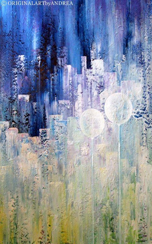 Acryl schilderij groot doek kunst hedendaagse kunst ABSTRACT