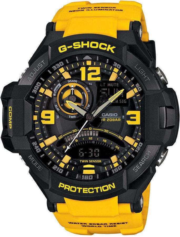 25 best ideas about g shock limited g shock g shock men s analog digital yellow resin strap watch 51x52mm ga1000 9b