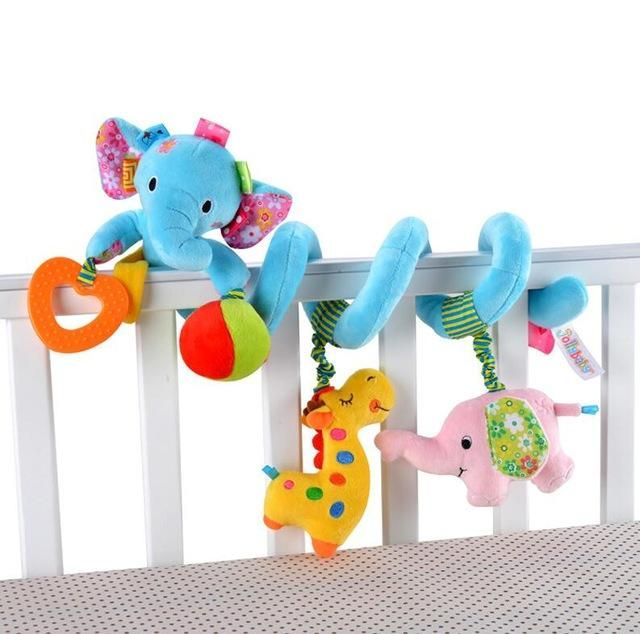 Baby Bed Bumper Soft Toys     Multi-functional - use it as a baby bed Bumper in the crib, or around the stroller, car seat and more! These Colourful plush toys help increase baby's imaginative and creativity.