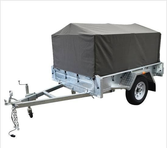 This Canvas cover is made to suit our 6x4 trailer cage. Contact the team to see if it will be suitable for your trailer or for any other questions.
