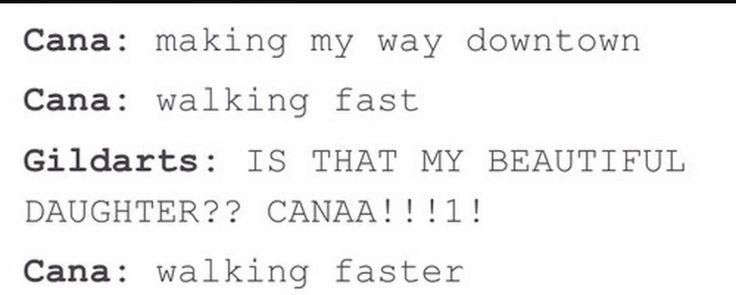 Fairy Tail | Cana and Gildarts