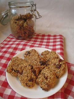 Dietetyczne ciasteczka owsiane bez cukru, mąki i tłuszczu