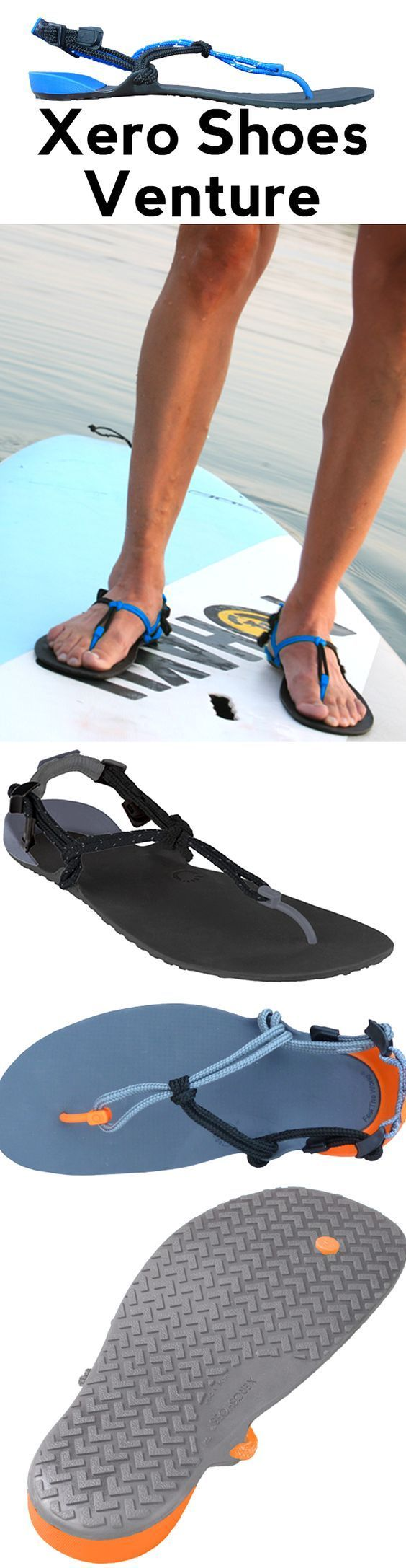 Review of the Venture by Xero Shoes - A barefoot running sandal.