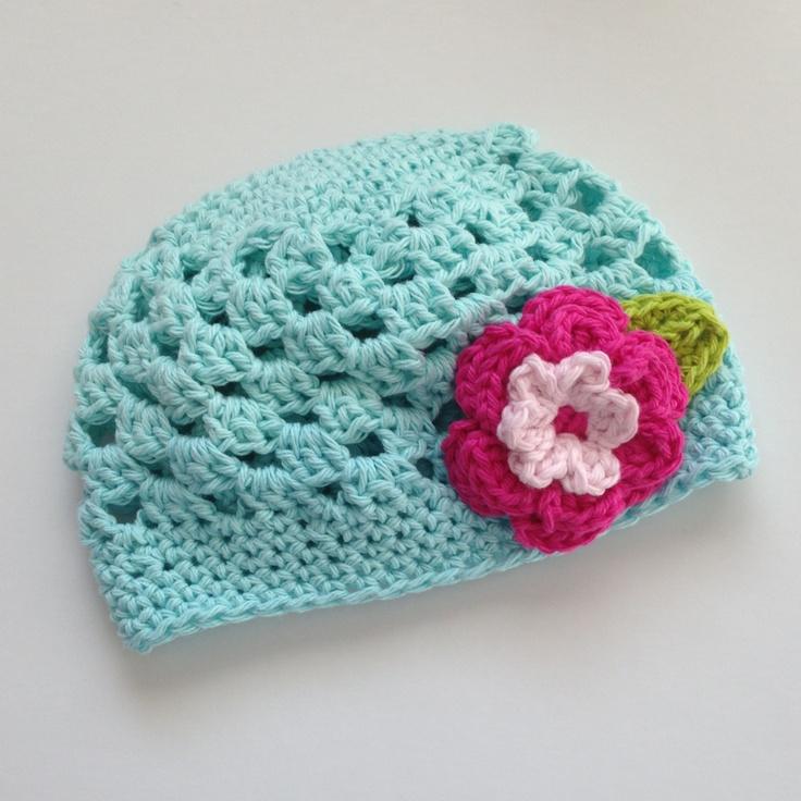Robins egg blue spring hat 100% cotton $25