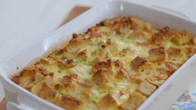 Strata au chorizo | Cuisine futée, parents pressés