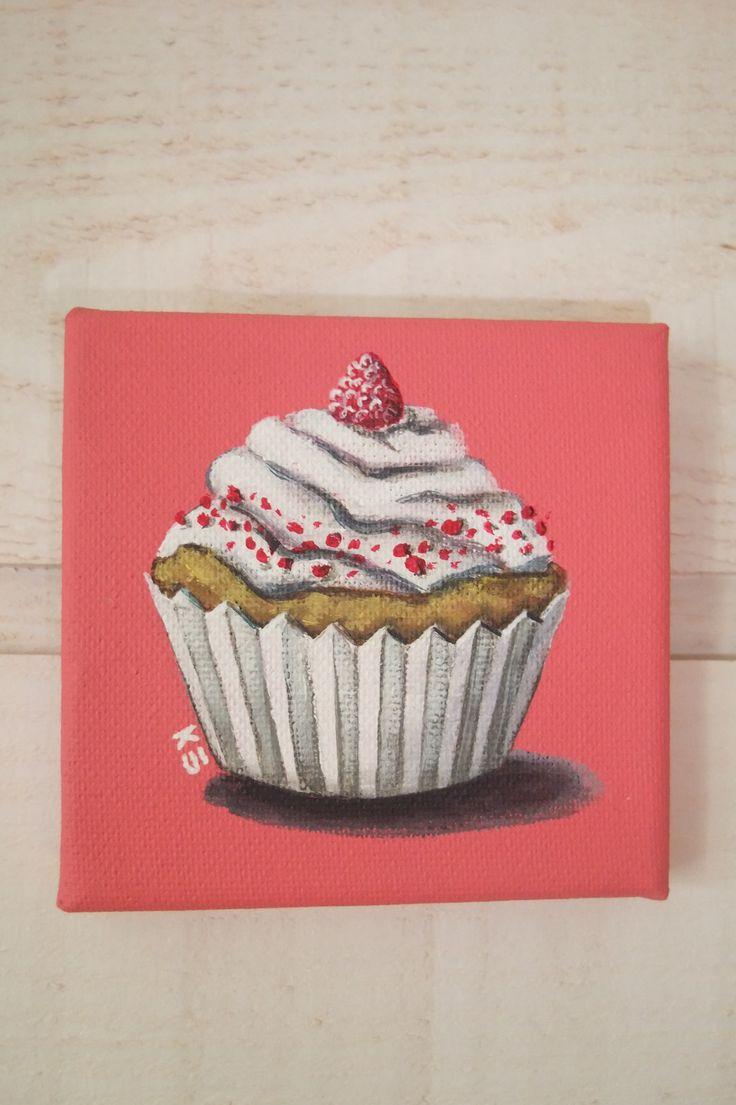 Les 25 meilleures id es concernant peinture cupcake sur pinterest soir es p - Idee tableau peinture ...