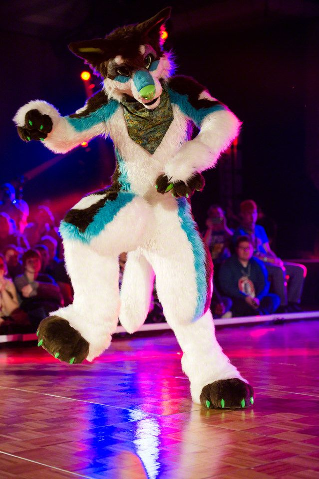 "madefuryou: ""Glitch getting it done at the Dance Comp! Photo by Randorn Canis """