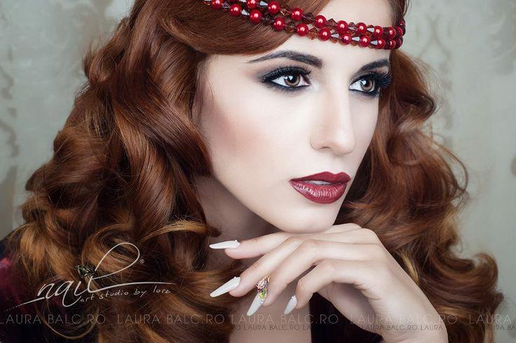 Photo/Creative/Edit: Laura Balc Models:Daniela Ciortea Nails: Nail Art Studio by Lore Hair: Bebe Veja Make up: Ligia Chira Accesories: Dee StyleDesign Clothes: Magazin NO.1 Location : LA Studio
