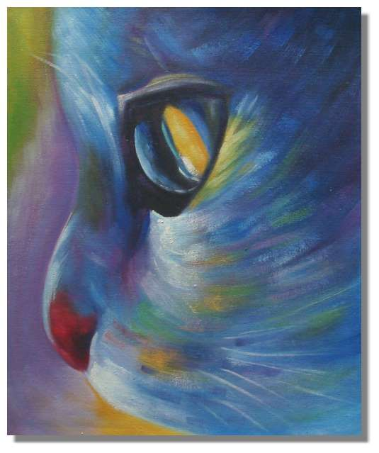 21 best cats images on pinterest cat art cat paintings for Cat paintings on canvas