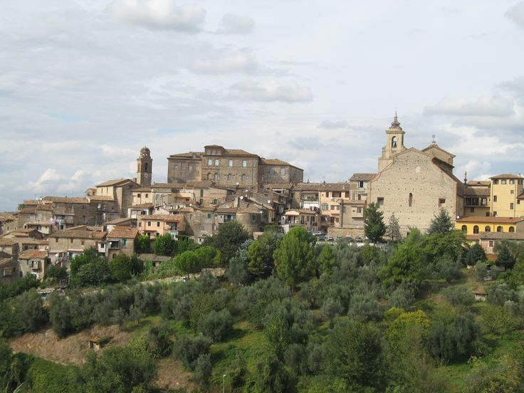 View of Poggio Mirteto