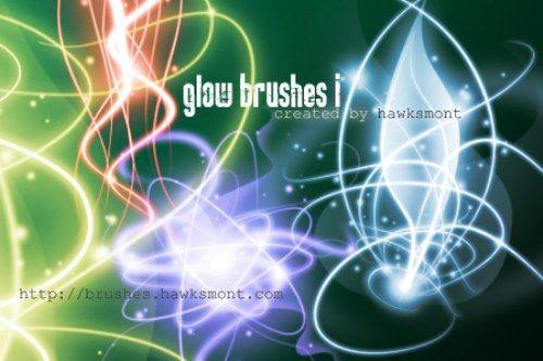 Pinceles de luces abstractas para Photoshop gratis