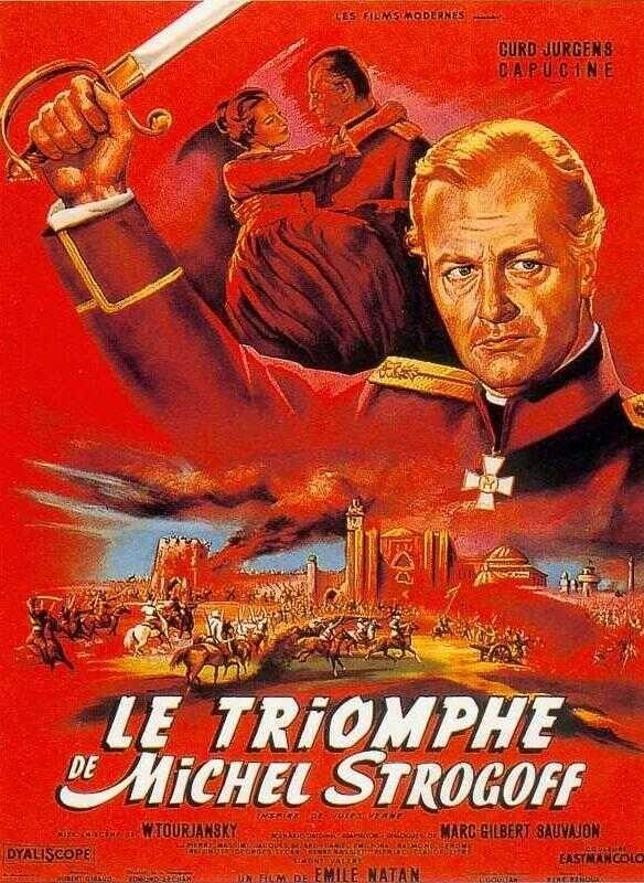 Le Triomphe de Michel Strogoff [film 1961]